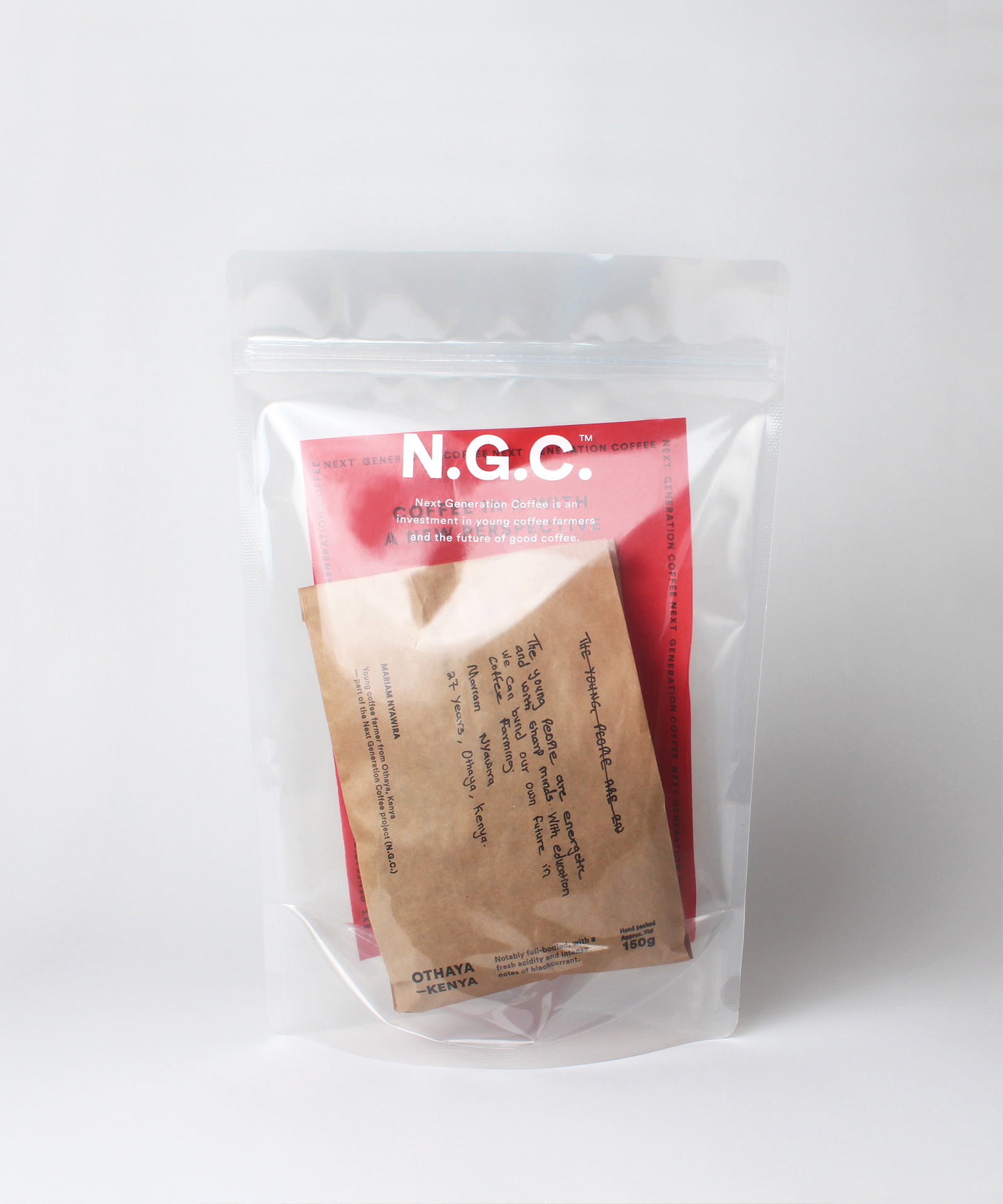 N.G.C. — Transperency for a greather cause